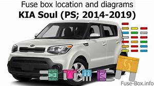 Fuse Box Location And Diagrams  Kia Soul  Ps  2014