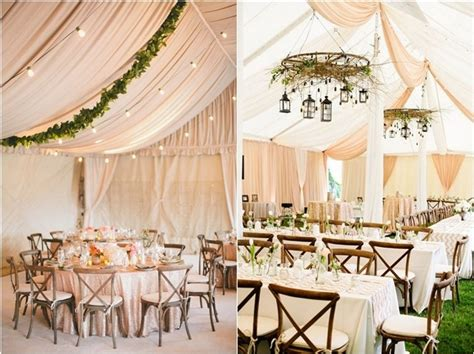 decorated tents for wedding receptions 30 chic wedding tent decoration ideas deer pearl flowers