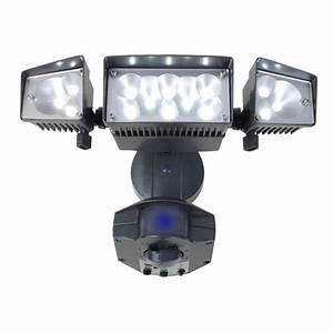 Security lighting types and applications of utilitech for Exterior security lighting