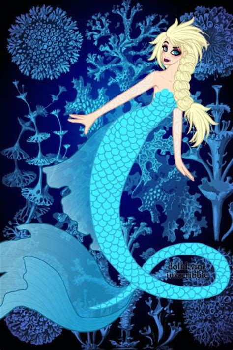 mermaid elsa  missyalissy created   neptune