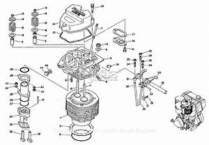 Robin  Subaru Wrd1 Cylinder Head