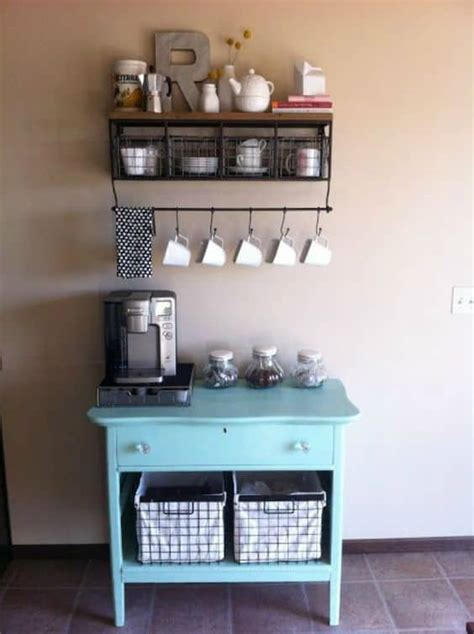 exceptional diy coffee bar ideas   cozy home