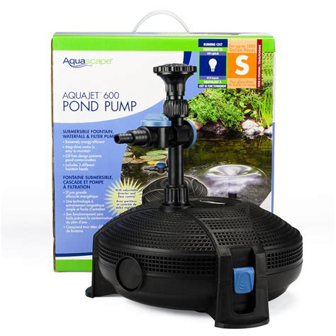 Aquascapes Pumps by Aquajet Pond Aquascape