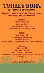 fit2flex turkey burn workout bad boot c thanksgiving health and
