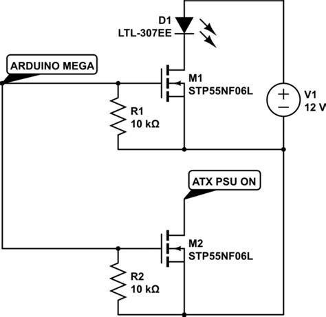 Arduino Mosfet Not Turning Off After First Power
