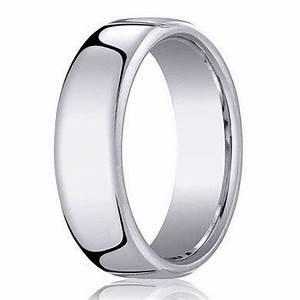 benchmark men39s cobalt chrome wedding ring with euro heavy fit With cobalt chrome men s wedding rings