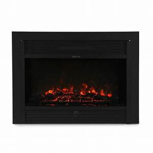 28 5 U0026quot  Embedded Electric Fireplace Insert Heater Remote