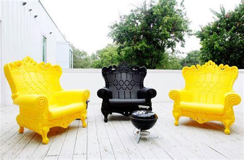 design 101 bright and bold molded plastic furniture