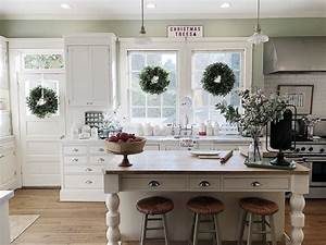 Decorating, The, Kitchen, In, Christmas, Decor, For, The, Holidays