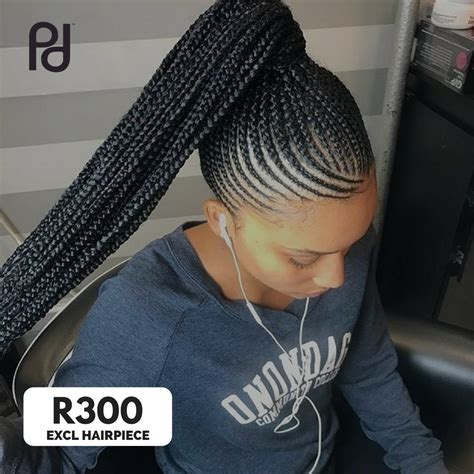 """Jul 09, 2021 · it's best for men with thick, straight hair. Picadoo on Twitter: """"Book now this straight up cornrow style excluding Hairpiece at R300 by Ida ..."""