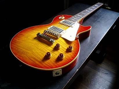 Gibson Paul Guitar Wallpapers Desktop Sunburst Guitarras