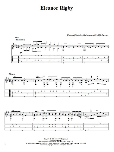Zoot eleanor rigby guitar lesson