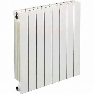 radiateur chauffage central vip 12 elements blanc l96 cm With porte d entrée alu avec radiateur soufflant salle bain