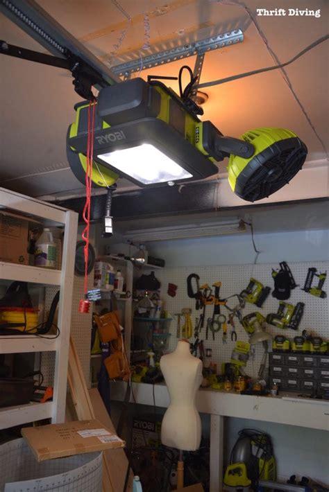 install  ryobi garage door opener