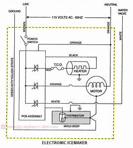 Ge Ice Maker Wiring Diagram