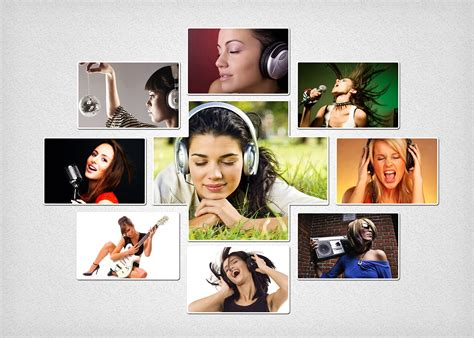 Photo Collage Template Photo Collage Template 03 Graphics Creative Market