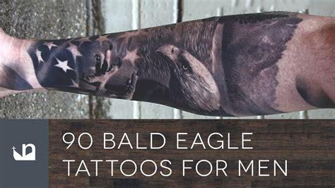 bald eagle tattoos  men youtube