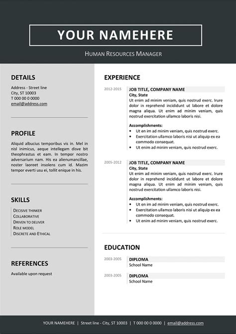 Can You Use Color In A Resume by Can I Use Calibri For Resume