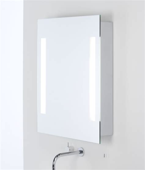 Mirror Bathroom Cabinet With Shaver Socket by Illuminated Bathroom Cabinet With Shaver Socket 700mm X 600mm