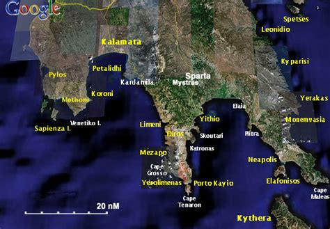 Sailing Wiki Greece by South Peloponnese A Cruising Guide On The World Cruising