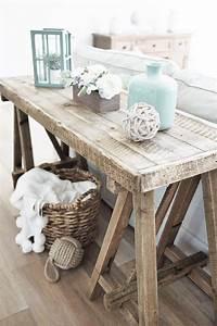 Best 25 rustic beach decor ideas on pinterest rustic for Rustic coastal coffee table