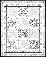 Coloring Quilt Dover Patchwork Adult Pattern Crazy Quilts Publications Printable Patterns Colouring Samples Doverpublications Template Paper Haven Creative Colorear Para sketch template
