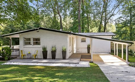 Midcenturymodern Houses Are In Demand In Atlanta—and At A