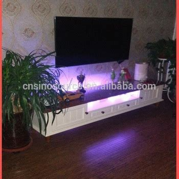 Wholesale New Modern Led Light Wooden Tv Stand And Tv