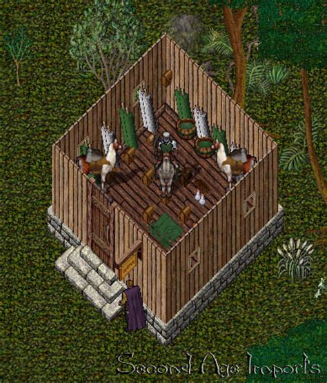 UO Stratics   Better Homes and Castles   Thatched Roof Cottage