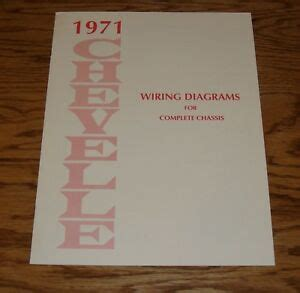 Chevrolet Chevelle Wiring Diagram Manual For Complete