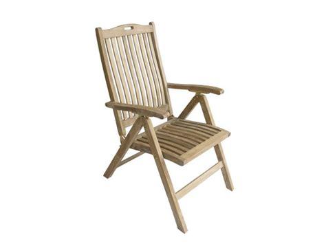 Recliner Garden Chair By Il Giardino Di Legno