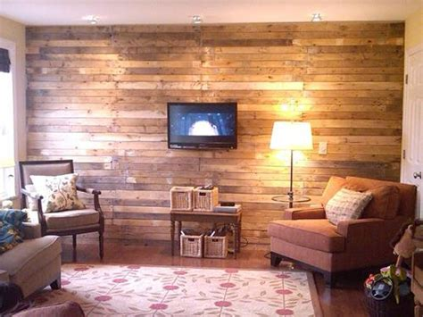 10 Wooden Pallet Plank Wall Ideas   Pallets Designs