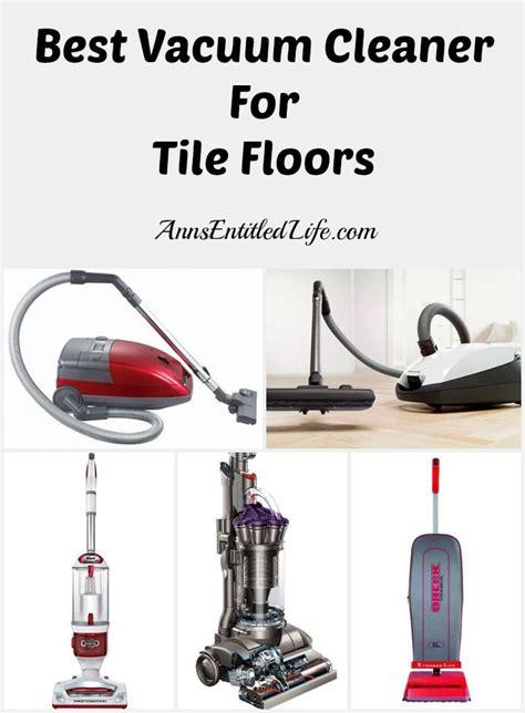 best floor cleaner for tile