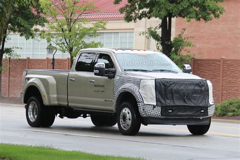 2019 Ford F450 Super Duty Spied Testing In Michigan
