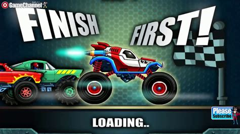 monster truck racing games for kids monsters 39 wheels 2 car skill racing monster truck