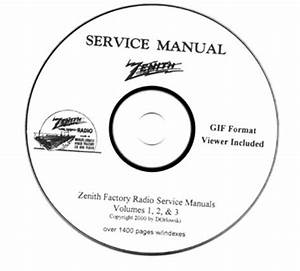 Zenith Radio Service Manuals