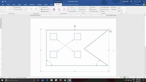 word microsoft drawing shapes tools tutorial officetutes teacher ungroup