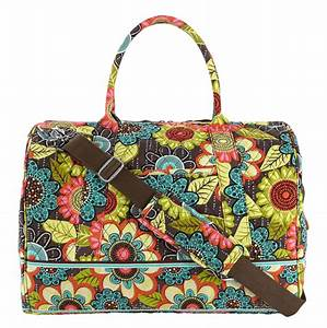 vera bradley frame travel bag in flower shower sale With vera bradley bathroom bag