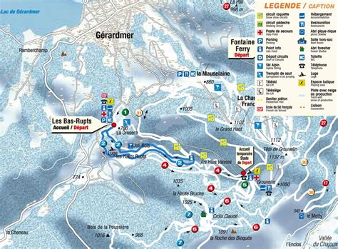 chambres hotes gerardmer itinéraires ski de fond hauts rupts gérardmer hautes