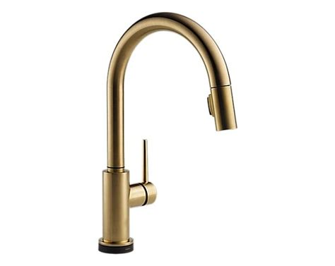 gold kitchen faucets toto tec1ds gy wireless faucet controller remodelista