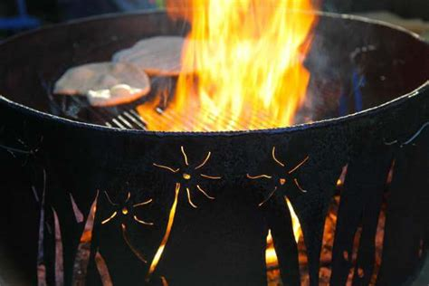 10 DIY Upcycled Fire Pits