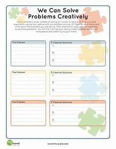 Printable: Creative Problem Solving - Mom it ForwardMom it