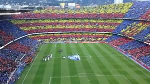 CAMP NOU HIMNO - BARCELONA VS REAL MADRID 21-04-2012 - YouTube  Real