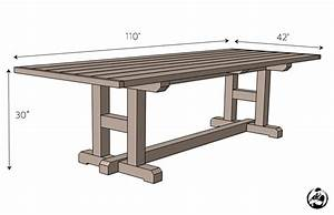 H-Leg Dining Table » Rogue Engineer