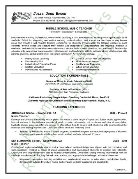 18822 musician resume template resume sle sle resume