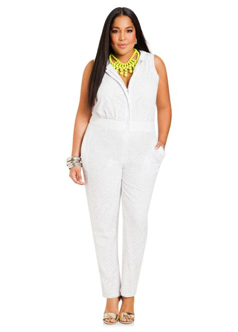 all white jumpsuit for chic plus size jumpsuits for stylish