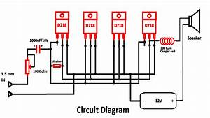 D718 B688 Amplifier Circuit Diagrams