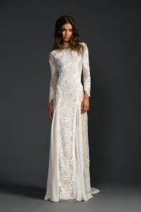 white and gold wedding dresses inca grace lace