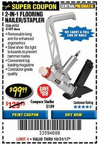 harbor freight tools coupon database free coupons 25 With harbor freight flooring nailer
