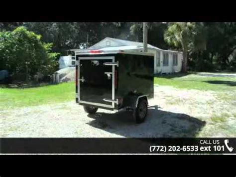 feet black enclosed trailer  lbs axle